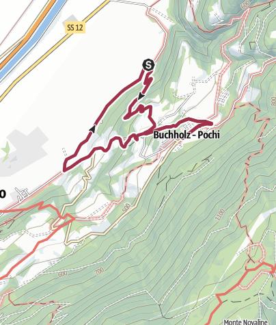 Mapa / Von Garbe nach Buchholz