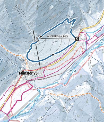 Carte / Oberfäld-Trail