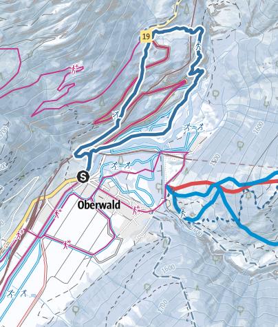 Map / Hüswäg-Trail