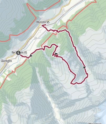 Map / Aussichtstour auf's Stockji