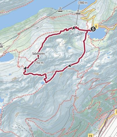 Map / Rundwanderung von Grimselpass zum Jostsee