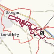 Map / N70 Wandelroute Nijmegen