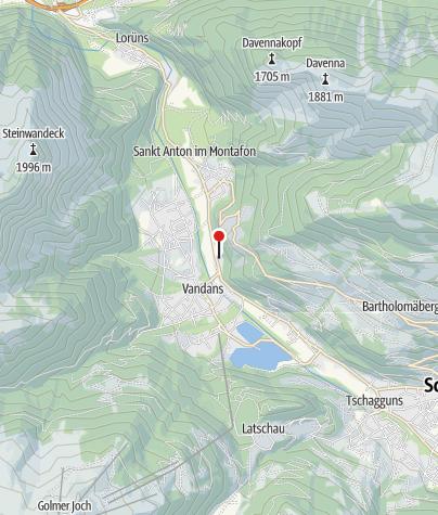 Karte / Chalet Amata-Vita