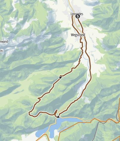 Map / Schronbach Runde