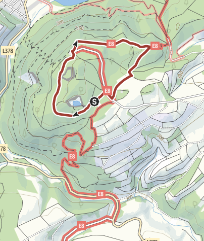 Map / Findet Lemi - der Familienwanderweg auf dem Lemberg