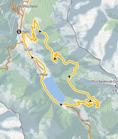 Map / 433 Poschiavo - San Romerio