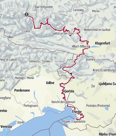 Mappa / Itinerario da un GPX-Track il 13 novembre 2020