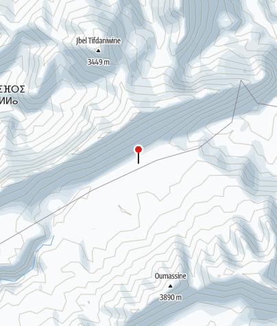 Karte / Refugi Tarkeddit