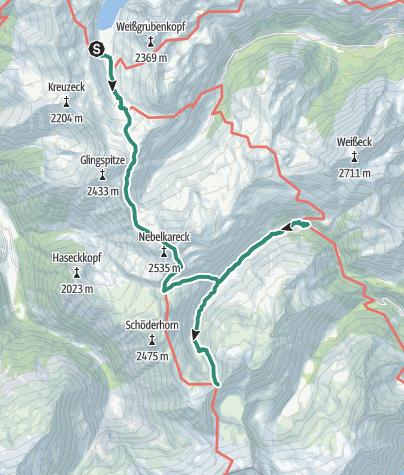 Map / 02 Zentralalpenweg West, E01: Tappenkarseehütte - Sticklerhütte/Albertbiwak