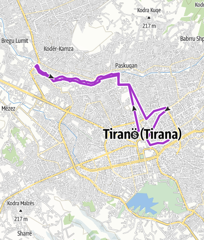 Mappa / Tirana with Rocío