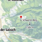 Carte / Damwildgehege beim Berggasthof Bachrain