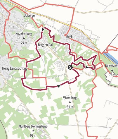 Map / Berg en Dal
