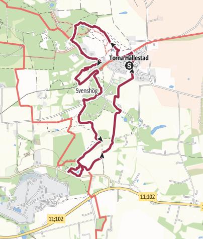 Map / Torna Hällestad