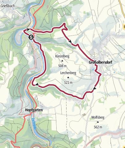 Map / Karl-Stülpner-Rundweg (Scharfenstein)