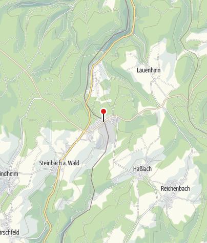 Karte / Rennsteigpark - Steinbach am Wald