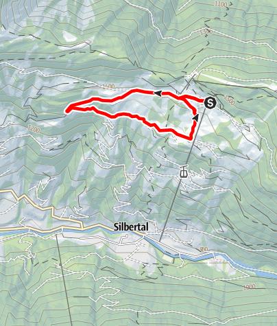 Karte / Bodastall-Schleife