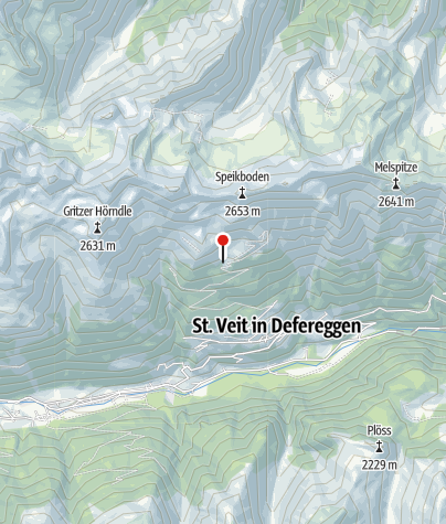 Karte / Speikbodenhütte