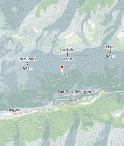 Map / Speikbodenhütte