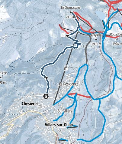 Kart / Grand Chamossaire (Villars)