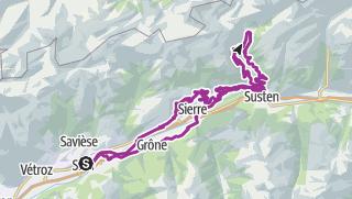 Carte / Nova Eroica Switzerland - Via Alpina