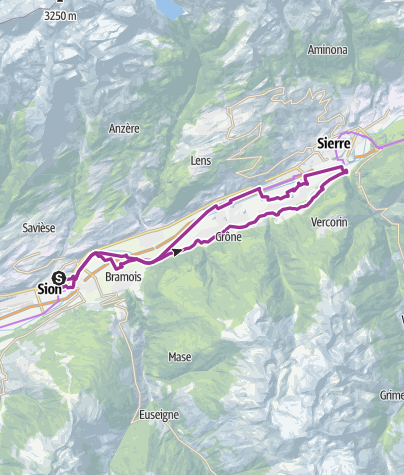 Carte / Nova Eroica Switzerland - Via Gusto