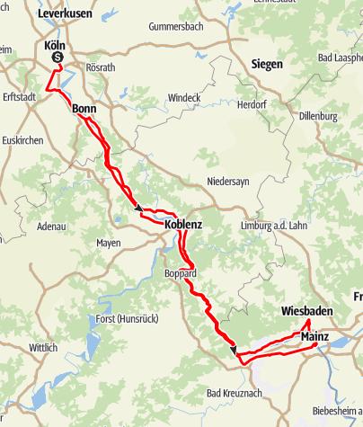 Rhine-Romantic Route • Scenic Route » Dreamango