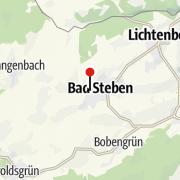 Karte / relexa hotel Bad Steben