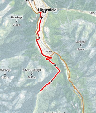 Karte / Biketour Feuerstein - Pollesalm (638)