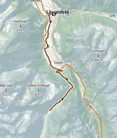 Map / Biketour Feuerstein - Pollesalm (638)
