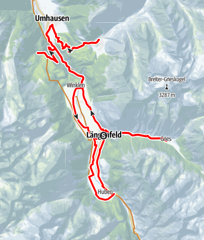 Map / Bike Tour - Mountain Village Loop