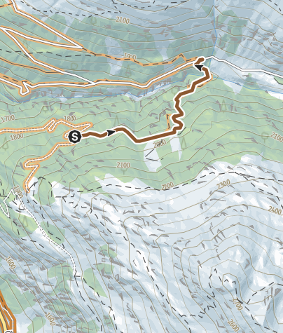 Map /  Jägers Notweg Trail (673)