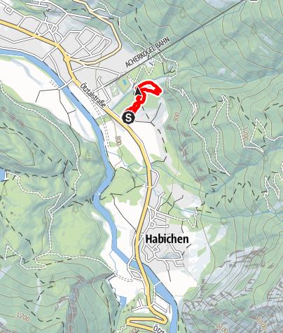 Map / Practise Trail Sattelfest Oetz
