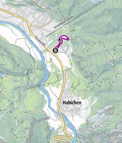 Mapa / Übungstrail Sattelfest Oetz (6002)