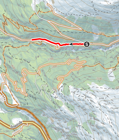 Map / Windachtal Trail (6000)