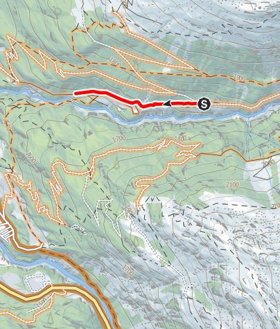 Karte / Windachtal Trail (6000)