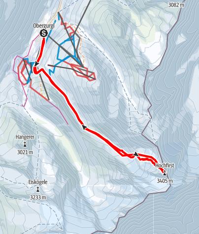 Karte / Hochfirst
