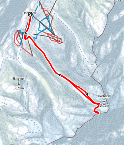 Map / Liebenerspitze ever summit