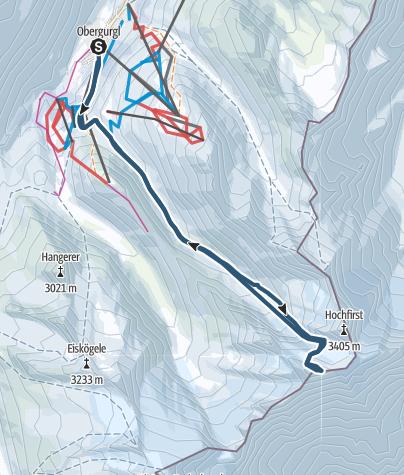 Map / Liebenerspitze ever summit