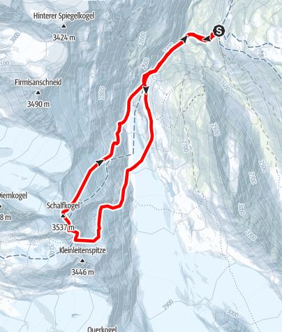 Map / Schalfkogel