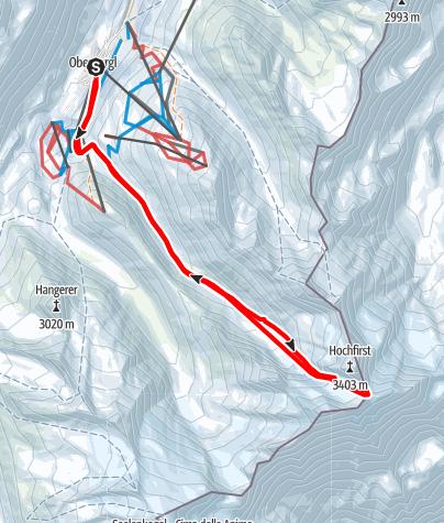 Karte / Seewerspitze
