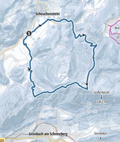 Karte / Am Plackles 1132m