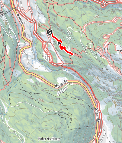 Map / Ferrata Moosalm
