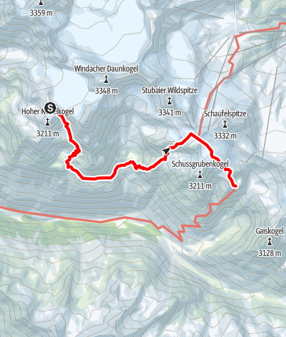 Map / Ötztal Trek Stage 06