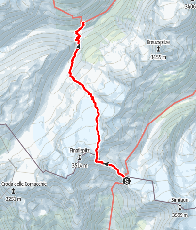 Map / Ötztal Trek Stage 13