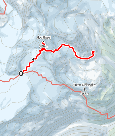 Map / Ötztal Trek Stage 15
