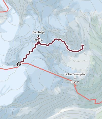 Map / Ötztal Trek Stage 15
