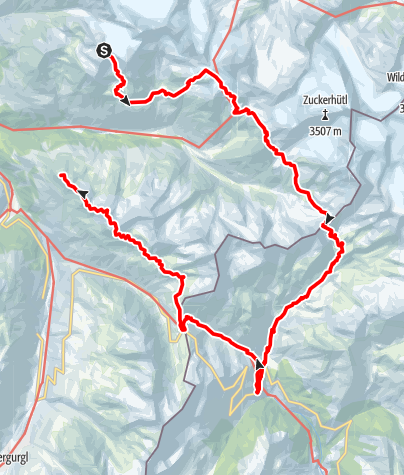Map / Ötztal Trek Route 2