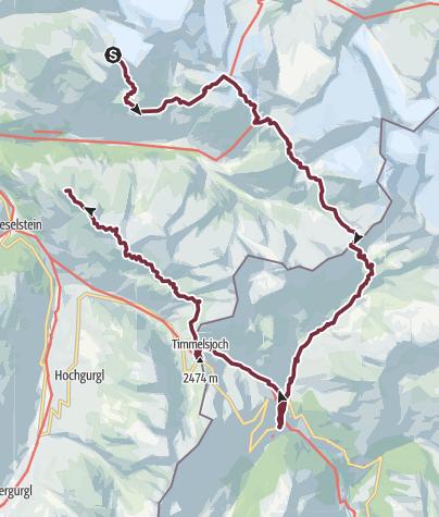 Map / Ötztal Trek Route 2