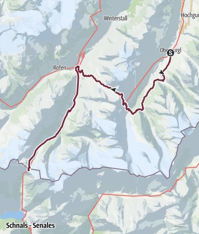 Map / Ötztal Trek Route 3