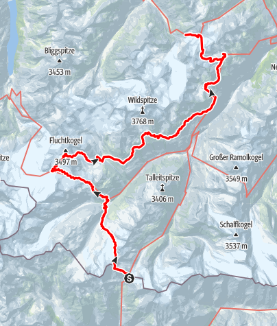 Map / Ötztal Trek Route 4